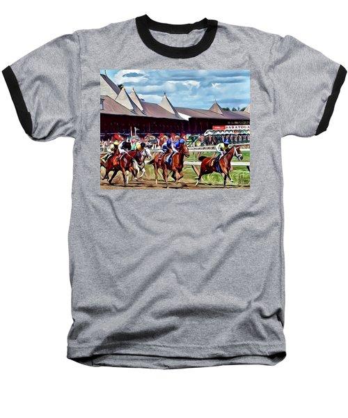 First Turn Saratoga Baseball T-Shirt