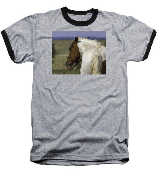 First Warning Baseball T-Shirt by Elizabeth Eldridge