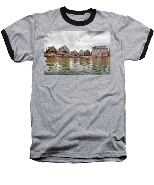 Fish Beach Baseball T-Shirt