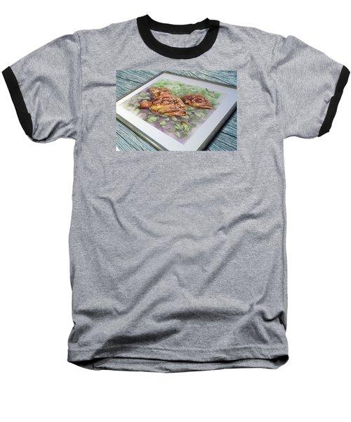 Fish Bowl 2 Baseball T-Shirt by William Love