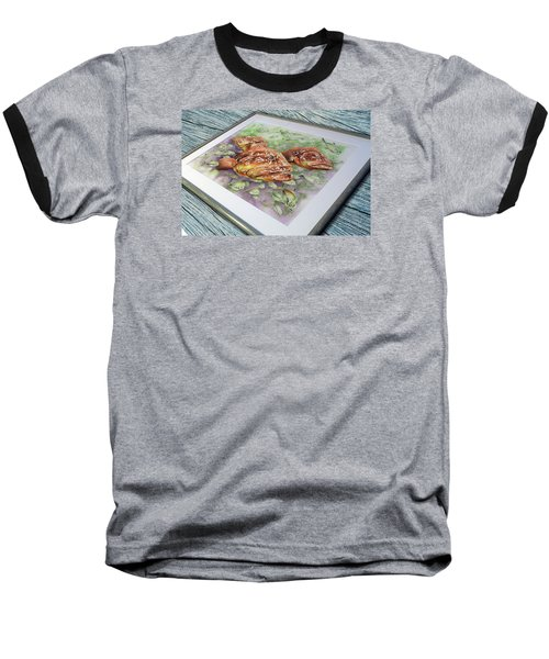 Fish Bowl 2 Baseball T-Shirt