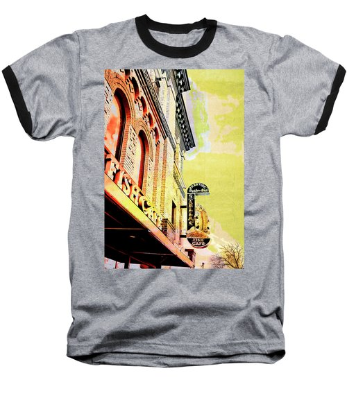 Fish Cafe Baseball T-Shirt