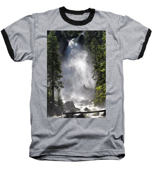 Fish Creek Falls Baseball T-Shirt