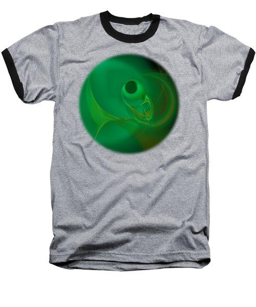 Fish Eye Baseball T-Shirt by Victoria Harrington
