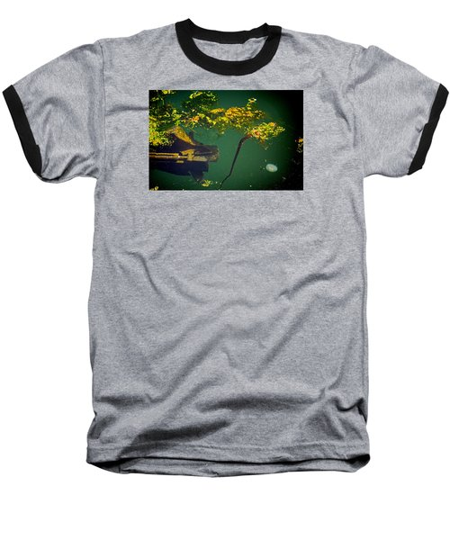 Fish Eye View Baseball T-Shirt