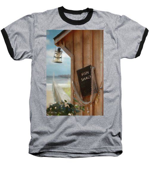 Baseball T-Shirt featuring the photograph Fish Fileted by Lori Deiter