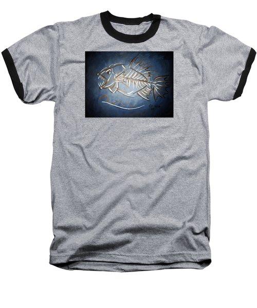 Fish Head Baseball T-Shirt