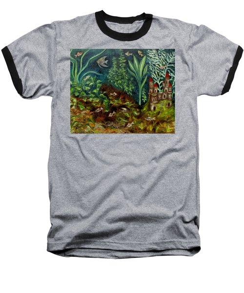 Fish Kingdom Baseball T-Shirt