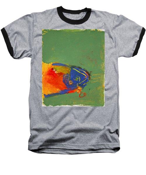 Fish Pondering The Anomaly Of Mans Anamnesis Baseball T-Shirt