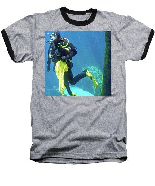 Fish Tank 16 Baseball T-Shirt
