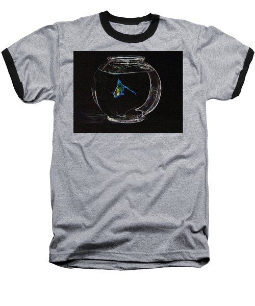 Fishbowl Baseball T-Shirt by Tim Allen