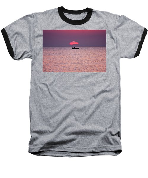 Baseball T-Shirt featuring the photograph Fisherman by Bruno Spagnolo