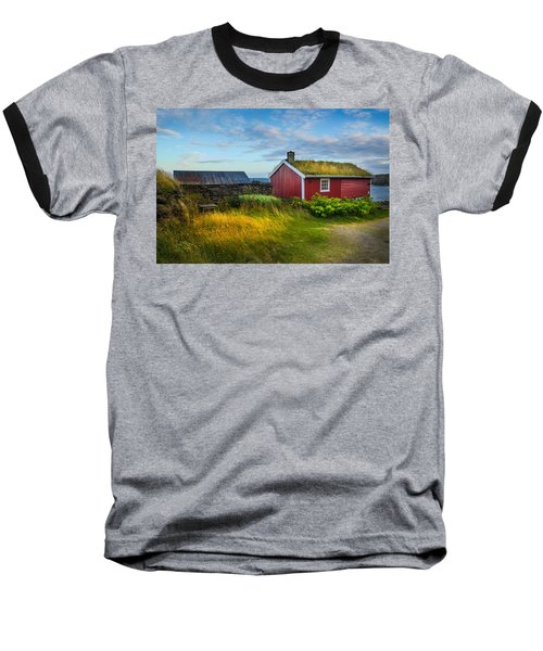 Baseball T-Shirt featuring the photograph Fisherman House by Maciej Markiewicz