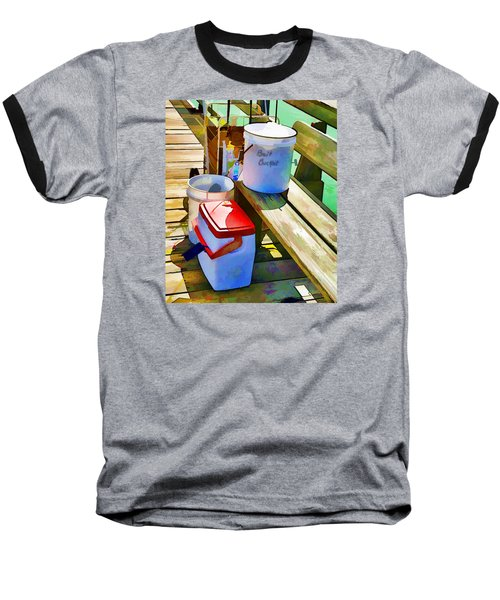 Fisherman's Buckets Baseball T-Shirt