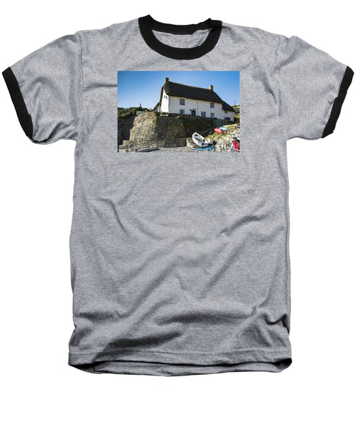 Baseball T-Shirt featuring the photograph Fishermans Cottage by Brian Roscorla