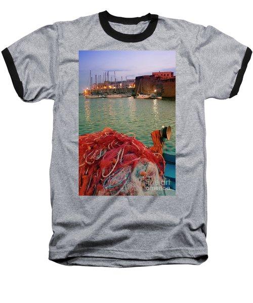 Fisherman's Net Baseball T-Shirt