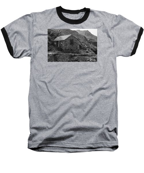 Baseball T-Shirt featuring the photograph Fishermans Net Shed by Brian Roscorla