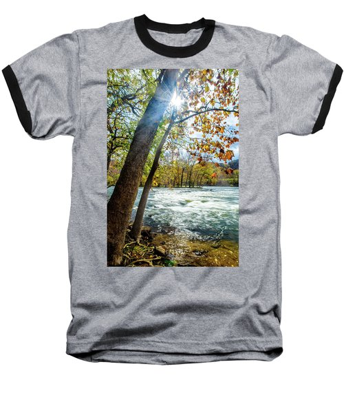 Fisherman's Paradise Baseball T-Shirt