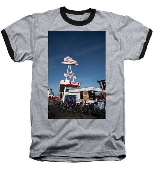 Fisherman's Wharf Bike Rental Baseball T-Shirt
