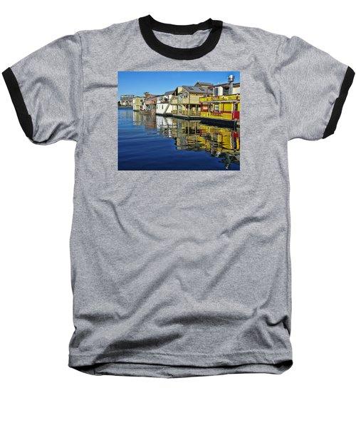 Fisherman's Wharf Baseball T-Shirt by Marilyn Wilson