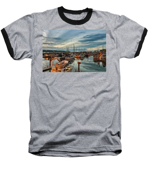 Baseball T-Shirt featuring the photograph Fishermans Wharf by Randy Hall