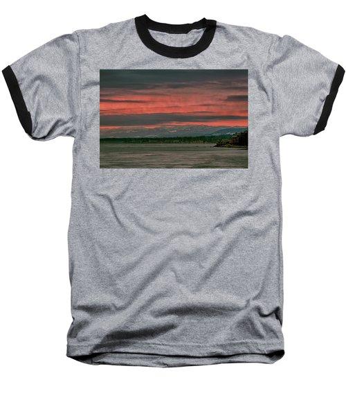 Baseball T-Shirt featuring the photograph Fishermans Wharf Sunrise by Randy Hall