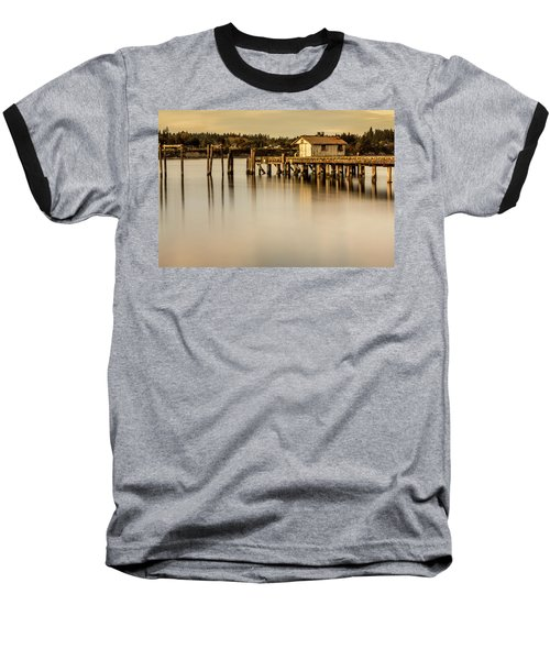 Fishermen Fuel Dock Baseball T-Shirt