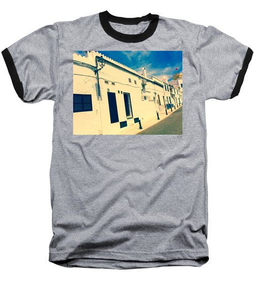 Fishermens' Cottages In Cuitadella Baseball T-Shirt
