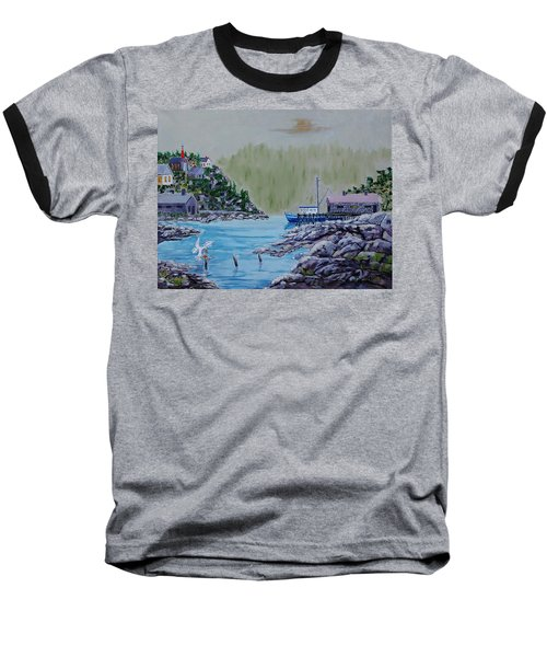 Fisher's Cove Baseball T-Shirt by Mike Caitham