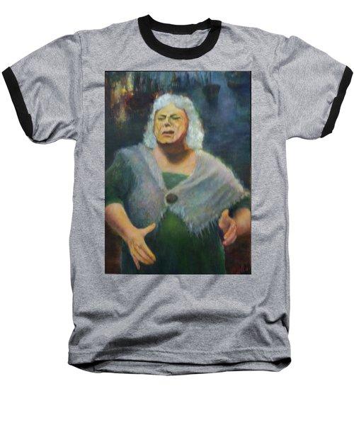 Fisherwoman Baseball T-Shirt