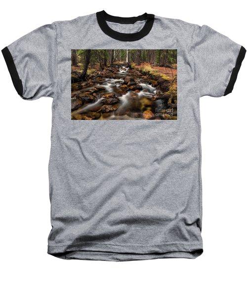 Fishhook Creek Waterscape Art By Kaylyn Franks Baseball T-Shirt