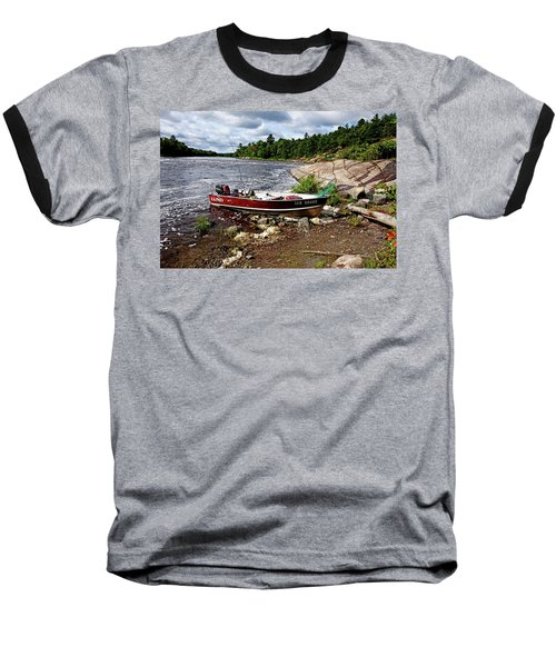 Fishing And Exploring Baseball T-Shirt
