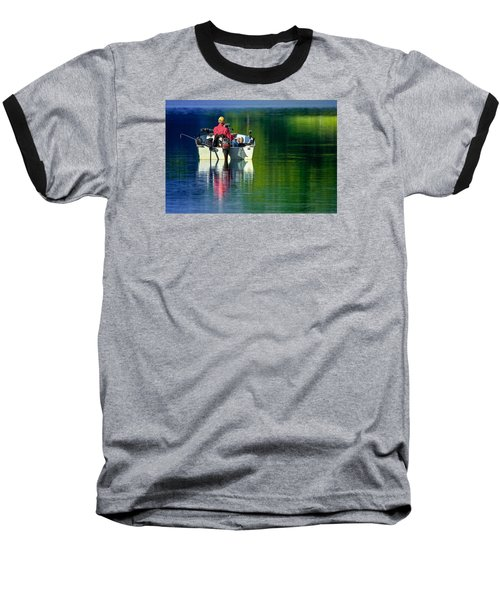Fishing And Wishing 2 Baseball T-Shirt by Brian Stevens