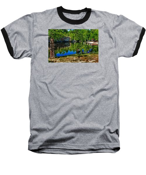 Fishing At Pickett Baseball T-Shirt