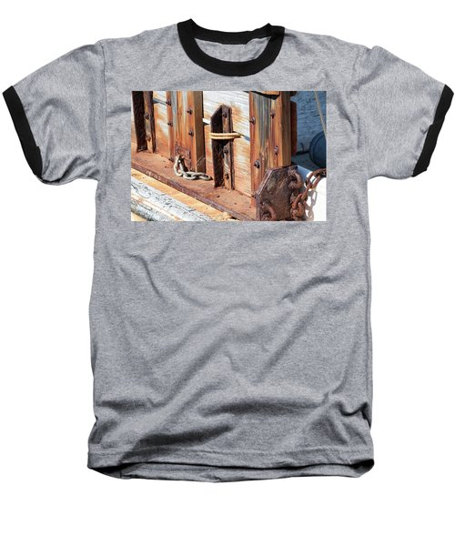 Fishing Boat 6 - Baseball T-Shirt