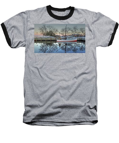Fishing Boat At Newburyport Baseball T-Shirt