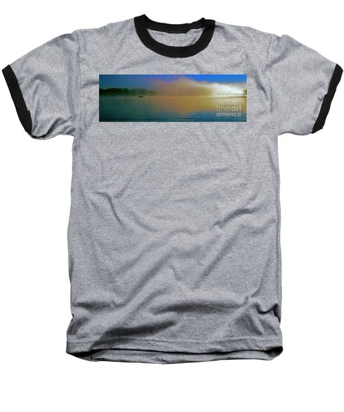 Fishing Boat Day Break  Baseball T-Shirt