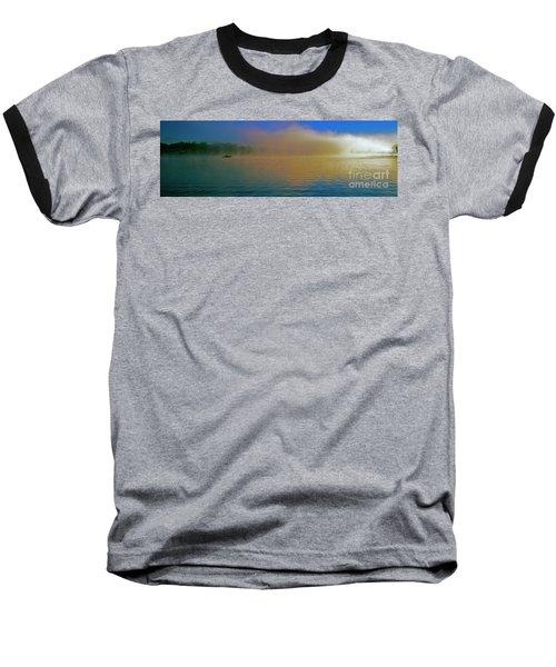 Fishing Boat Day Break  Baseball T-Shirt