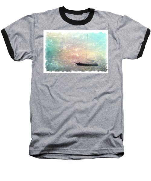 Fishing Boat In The Morning Baseball T-Shirt