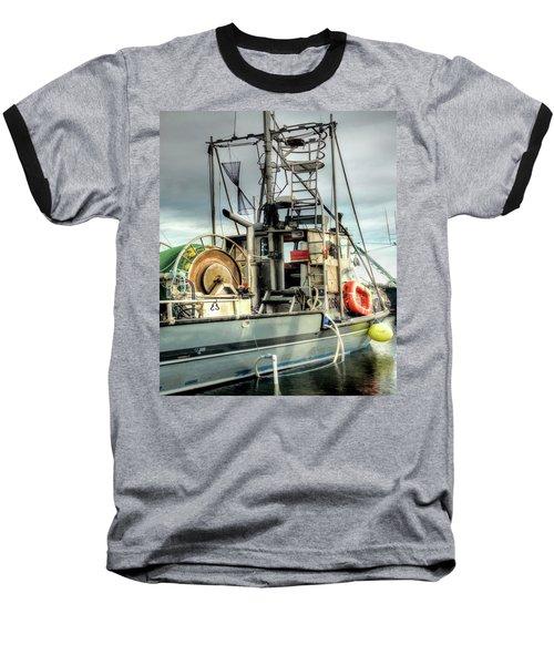 Fishing Boat Rigging Baseball T-Shirt