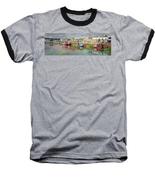 Fishing Boats In Ireland Baseball T-Shirt