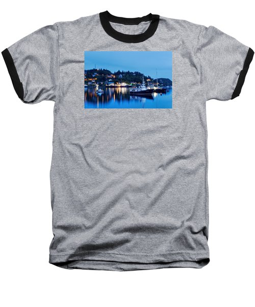 Fishing Boats Of Orban Baseball T-Shirt by Robert Charity