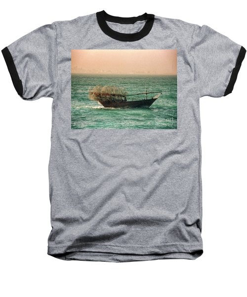 Fishing Dhow Baseball T-Shirt