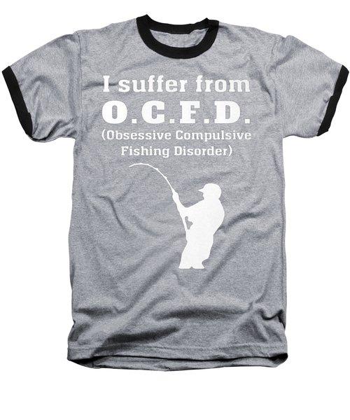 Fishing Baseball T-Shirt by Do Van thuc
