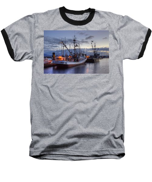 Fishing Fleet Baseball T-Shirt
