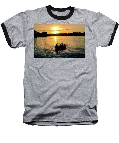 Fishing In Auckland Baseball T-Shirt