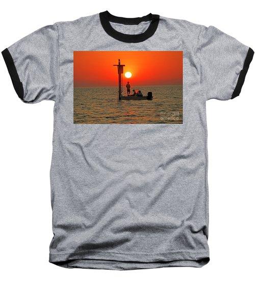 Fishing In Lacombe Louisiana Baseball T-Shirt