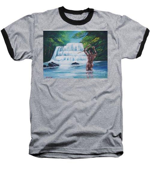 Fishing In The River Baseball T-Shirt