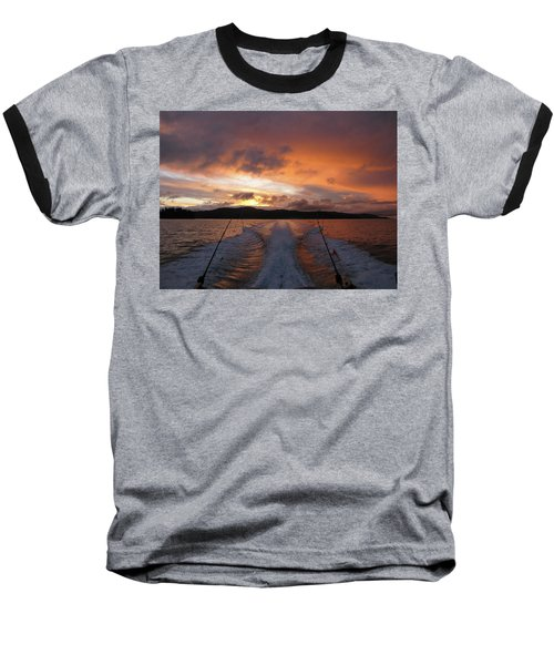 Fishing In The Sun Baseball T-Shirt