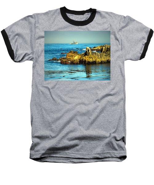 Fishing Monterey Bay Ca Baseball T-Shirt